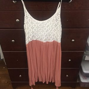 Forever 21 Lace Baby Doll Dress